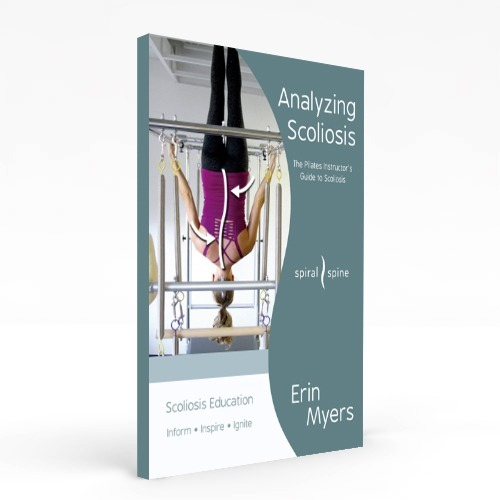 Scoliosis book for Pilates teachers